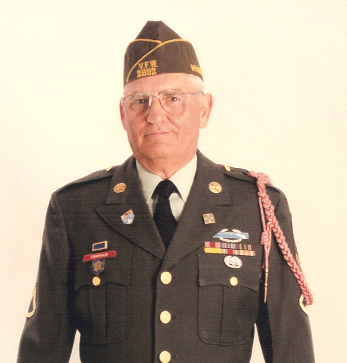 Normand Chartier - in uniform