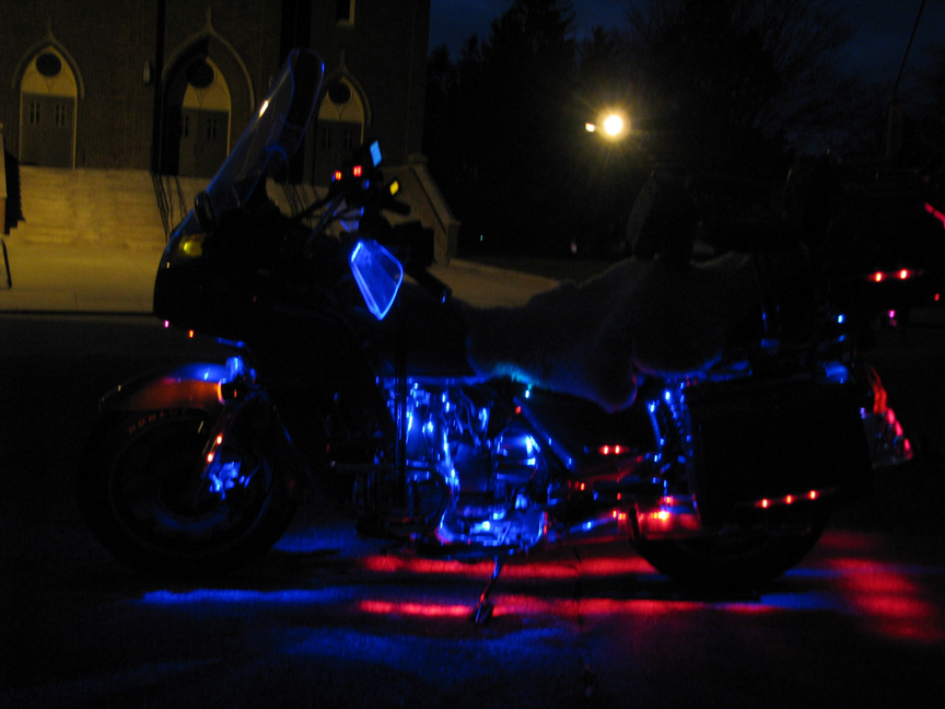 Ernie Dube Bike At Night 009